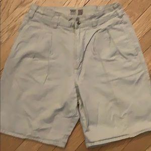 Gap khaki or navy shorts sz 16. Good condition